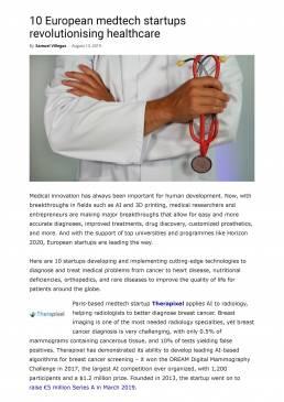 10 European medtech startups revolutionising healthcare _ EU-Startups-revolutionising-healthcare-Therapixel